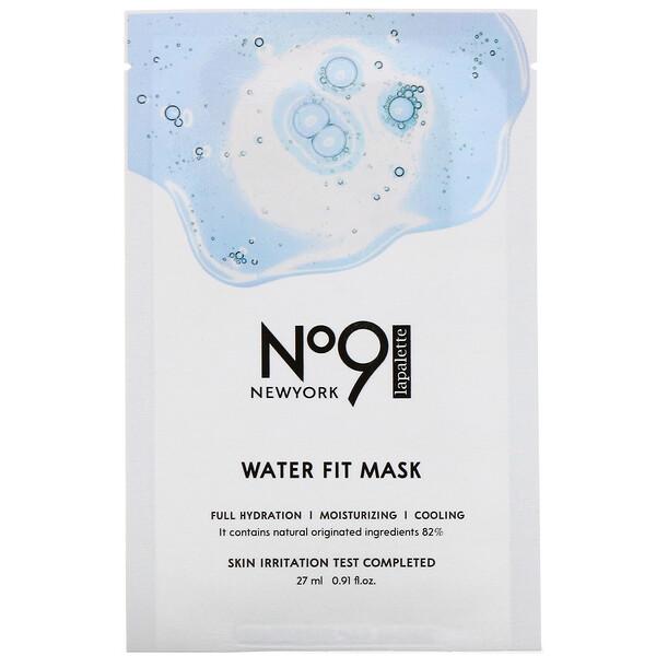 No.9 Water Fit Mask, 10 Sheets, 0.91 fl oz (27 ml) Each