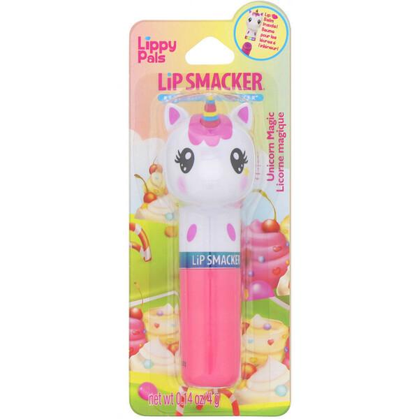 Бальзам для губ Lippy Pals, Unicorn, сладкий единорог, 4г