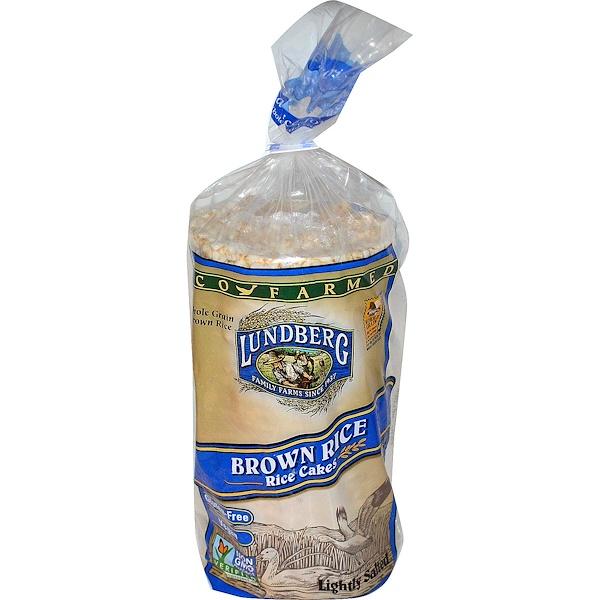 Lundberg, Хлебцы из коричневого риса, слегка подсоленные, 241г (Discontinued Item)