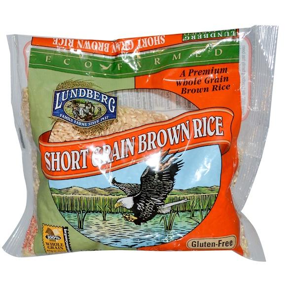 Lundberg, Short Grain Brown Rice, 16 oz (454 g) (Discontinued Item)