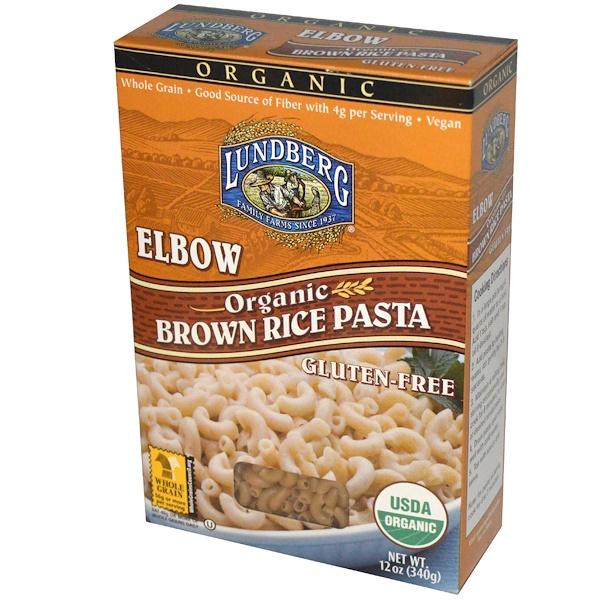 Lundberg, Elbow, Brown Rice Pasta, 340 г (Discontinued Item)