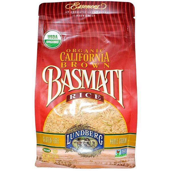 Lundberg, Органический калифорнийский коричневый рис Басмати, 32 унций (907 г) (Discontinued Item)