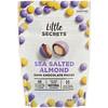 Little Secrets, Кусочки темного шоколада, миндаль с морской солью, 4,5 унц. (128 г)