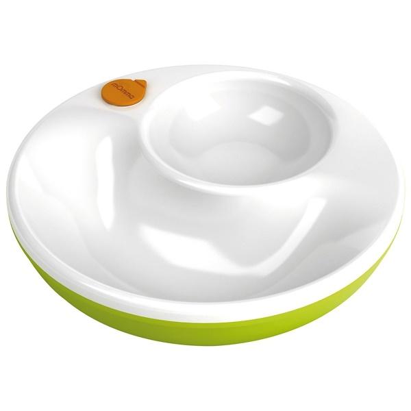 Lansinoh, mOmma, теплая тарелка, цвет зеленый, 1 тарелка, 1 чашка (Discontinued Item)