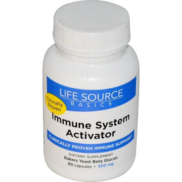 Активатор иммунной системы, 500 мг, 60 капсул