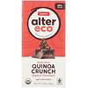 Alter Eco, Органический шоколадный батончик, Насыщенное хрустящее лакомство с горьким шоколадом и киноа, 2,82 унц. (80 г)