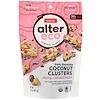 Alter Eco, Dark Chocolate Coconut Clusters, Cherry + Almond Butter, 70% Cocoa, 3.2 oz (91 g)