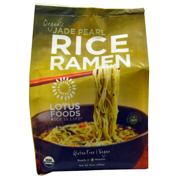 Lotus Foods, Organic, Jade Pearl Rice Ramen, 10 oz (283 g) (Discontinued Item)