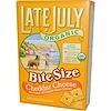 Late July, Органические крекеры, чеддер сыр 5 унции (142 г)