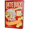 Late July, Органические крохотные крекеры-сэндвичи с сыром чеддер, 142 г
