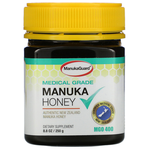 Manuka Honey, Medical Grade, MGO 400, 8.8 oz (250 g)