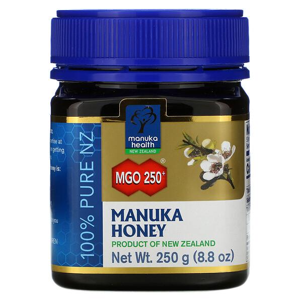 Мед манука, MGO 250+, 250г (8,8унции)