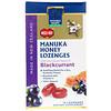 Manuka Health, Леденцы, лесной мёд манука и черная смородина, MGO 400+, 15 леденцов