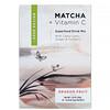 Matcha Road, матча с витаминомС, смесь для приготовления напитка, питайя, 10пакетиков по 5г (0,18унции)