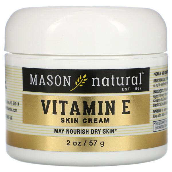 Vitamin E Skin Cream, Pear Scent, 2 oz (57 g)