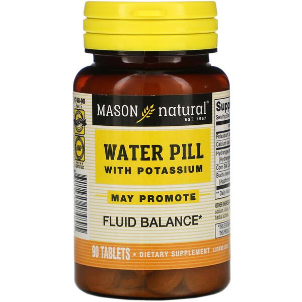 Водяные таблетки с калием, 90 таблеток