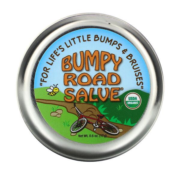 Sierra Bees, Bumpy Road Salve, мазь от ушибов, 17г (0,6унции)