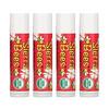 Sierra Bees, Органические бальзамы для губ с запахом граната, 4 в упаковке, 4,25г (0,15 унции) каждый