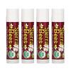 Sierra Bees, Органические бальзамы для губ, с запахом черешни, 4 в упаковке, 4,25г (15унций) каждый