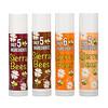 Sierra Bees, набор органических бальзамов для губ, 4 упаковки, весом 4,25 г (0,15 унции) каждый