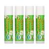 Sierra Bees, Органические бальзамы для губ, мятный взрыв, 4 штуки в упаковке весом 0,15унции (4,25г) каждая