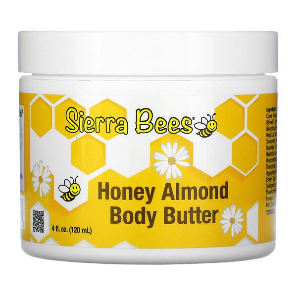 масло для тела с медом и миндалем, 120мл (4жидк.унции)