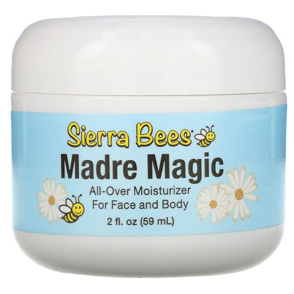 Sierra Bees, Madre Magic, многоцелевой бальзам из маточного молочка и прополиса, 59 мл (2 жидких унции)