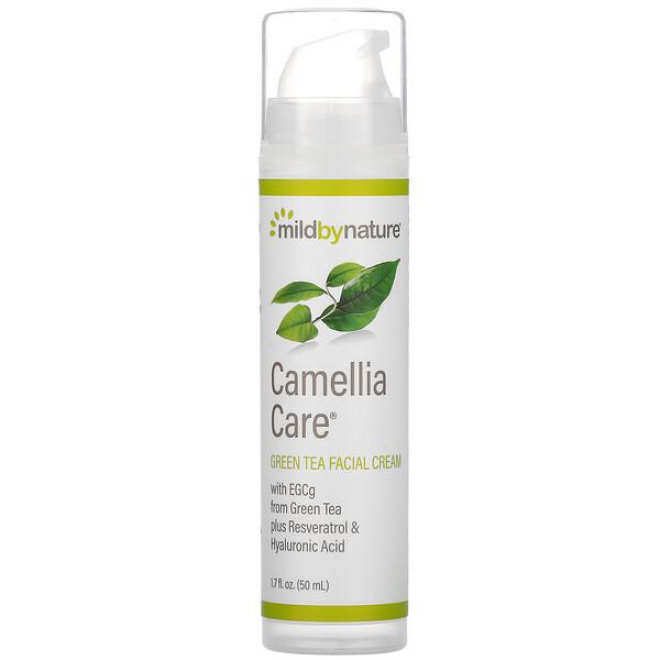Camellia Care, крем для кожи с ЭГКГ из зеленого чая, 50мл (1,7жидк.унции)