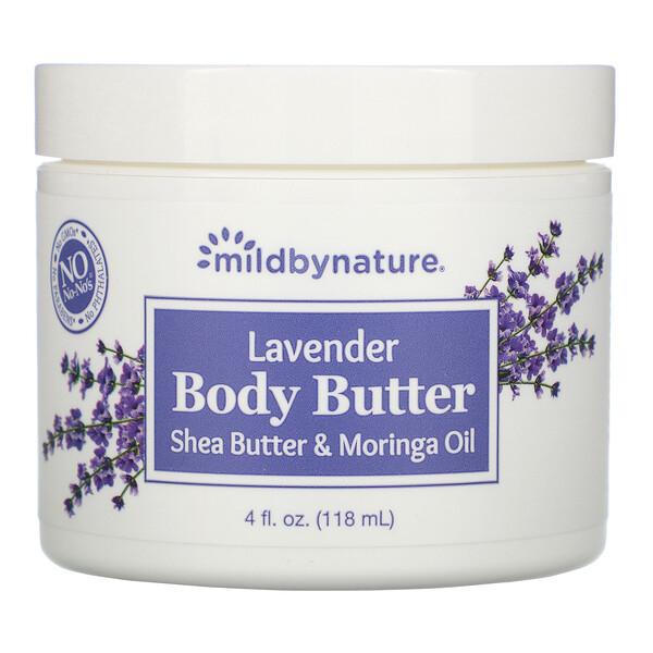 Mild By Nature, Лавандовое масло для тела, 118мл (4жидк.унции)
