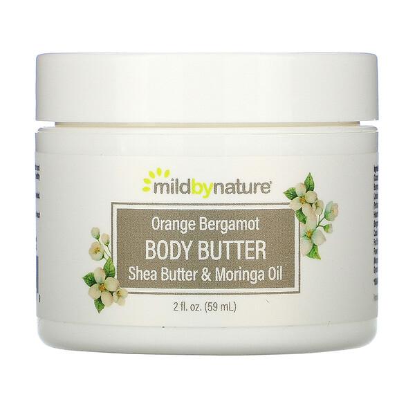 Mild By Nature, масло для тела с апельсином и бергамотом, 59мл (2жидк.унции)