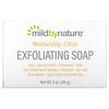 Mild By Nature, отшелушивающее мыло, с маслами марулы, таману и ши, с цитрусовым ароматом, 141г (5унций)