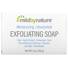 Mild By Nature, отшелушивающее мыло, с маслами марулы, таману и ши, без запаха, 141г (5унций)