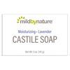 Mild By Nature, Кастильское мыло с ароматом лаванды, 141 г (5 унций)