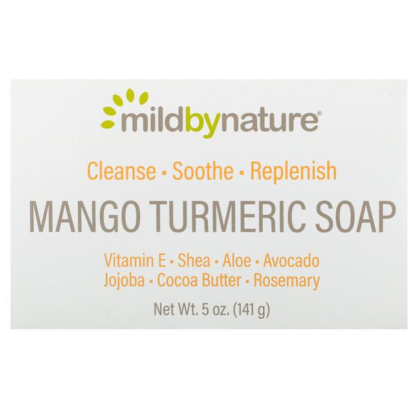 Mild By Nature, Мыло с манго и куркумой, 141 г (5 унций)