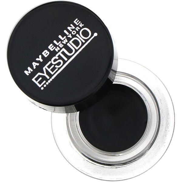 Гелевая подводка для глаз Eye Studio, Lasting Drama, угольно-черный цвет, 3г
