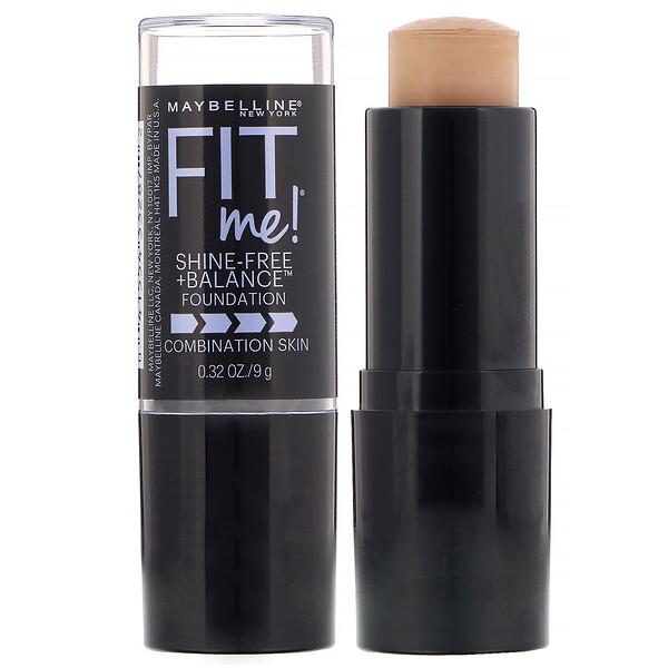 FitMe, тональная основа в виде стика для корректирования несовершенств и устранения жирного блеска, оттенок 235 «Чистый беж», 9г