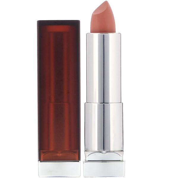 Maybelline, Кремовая помада для губ Color Sensational, оттенок «Дерзкий нюд», 4,2г (Discontinued Item)