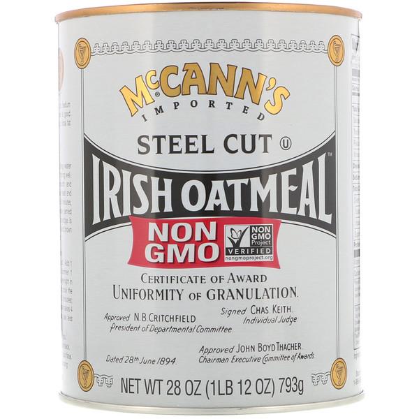 McCann's Irish Oatmeal, Измельченная овсянка, 28 унций (793 г) (Discontinued Item)