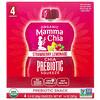 Mamma Chia, Organic Chia Prebiotic Squeeze, Strawberry Lemonade, 4 Pouches, 3.5 oz (99 g) Each