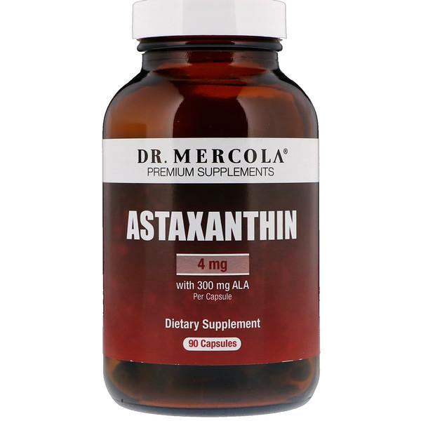 Астаксантин, 4 мг, 90 капсул
