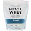 Dr. Mercola, порошок сывороточного протеина Miracle, оригинальный, 16 унций (454 г)