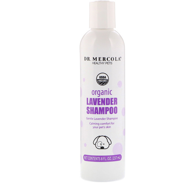 Healthy Pets, Organic Lavender Shampoo for Dogs, 8 fl oz (237 ml)