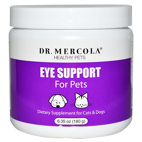 Dr. Mercola, поддержка глаз для животных, 6,35 унций (180 г)