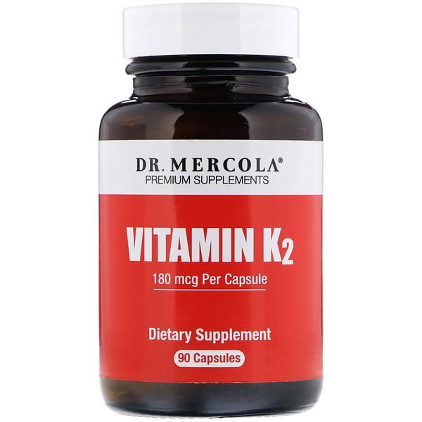 ВитаминK2, 180мкг, 90капсул