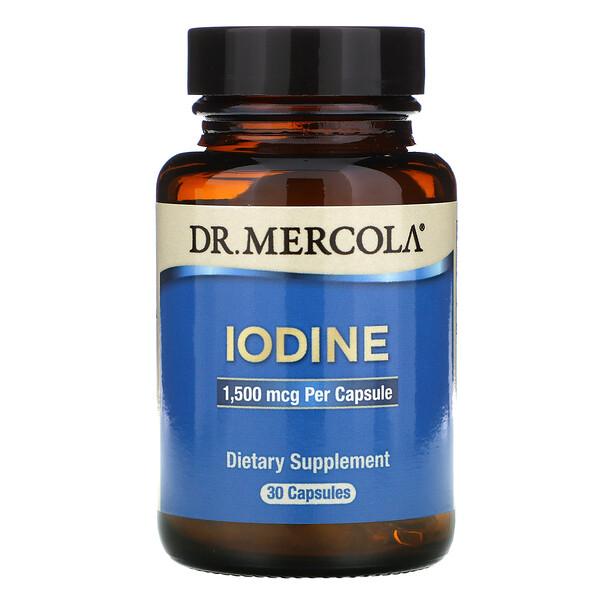 Iodine, 1.5 mg, 30 Capsules