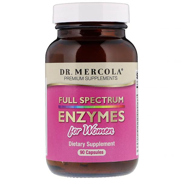 Full Spectrum Enzymes for Women, 90 Capsules