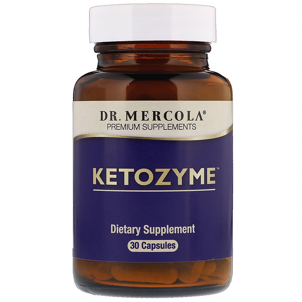 Dr. Mercola, Ketozyme, 30 Capsules (Discontinued Item)