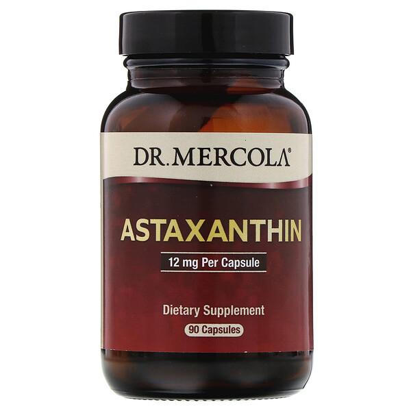 Астаксантин, 12мг, 90капсул