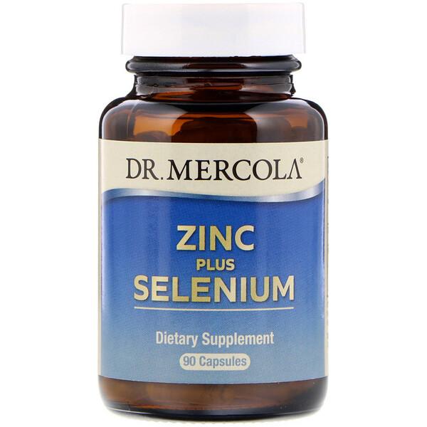 Dr. Mercola, Цинк и селен, 90капсул