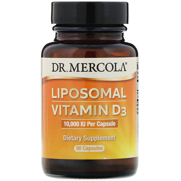 Липосомный витамин D3, 10000МЕ, 90капсул